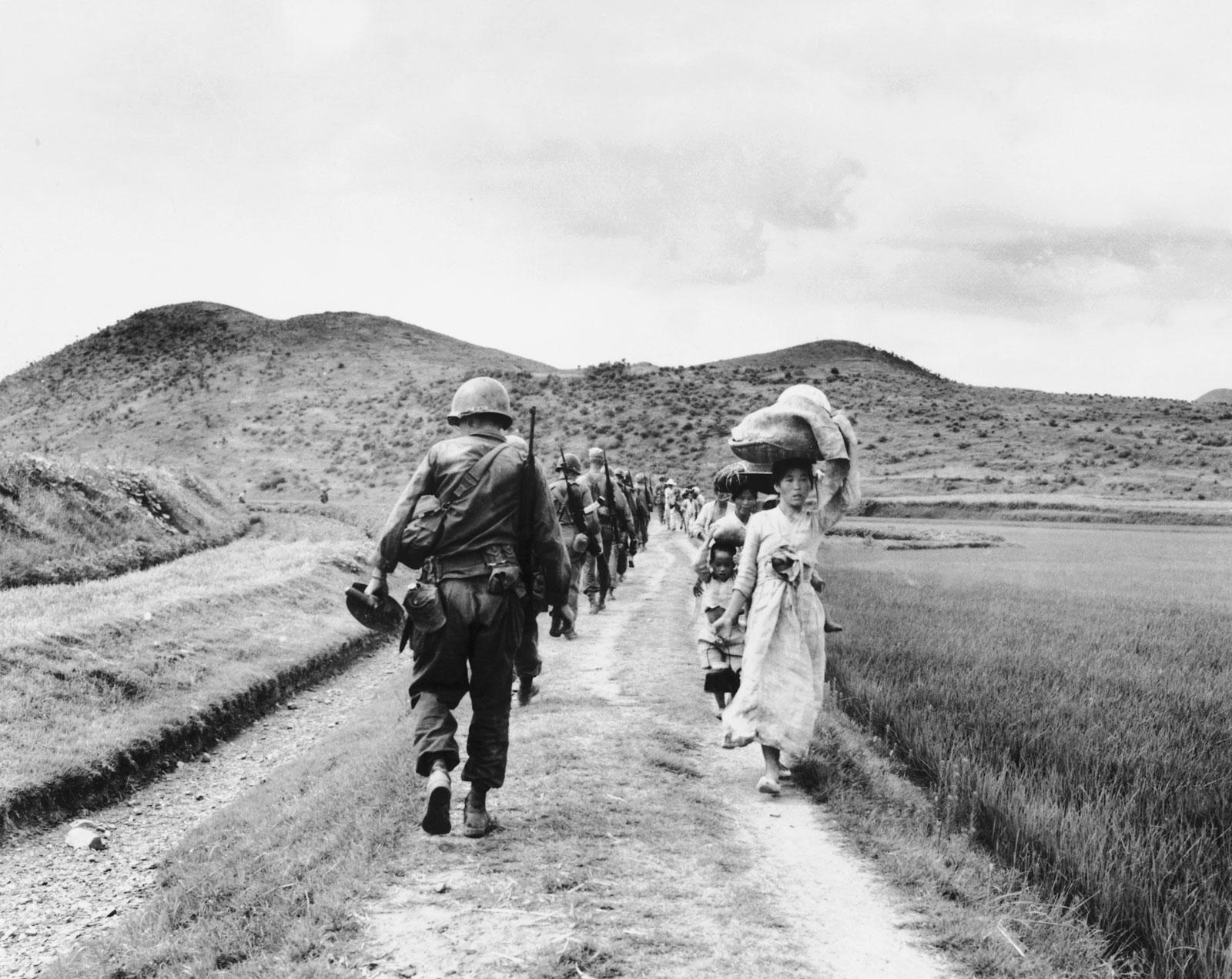 1950-53 metais vykusio karo metu žuvo 1,2 milijono žmonių